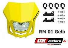 Univ. headlight mask LMX yellow