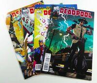 Marvel DEADPOOL (2010) #22 23 24 25 Lot VF (8.0) to VF/NM (9.0) Ships FREE!