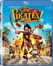 The Pirates! In an Adventure with Scientists (Blu-ray, 2012) | New & Sealed | U