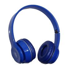 Keimav Quality Bluetooth Stereo Headphone (Blue/Red/White)
