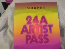 MORPHE 24A ARTIST PASS EYESHADOW PALETTE 24 SHADES