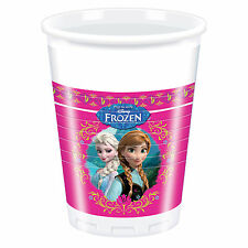 Unique Party 71601 - 200ml Disney Frozen Plastic Cups Pack of 8