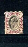 South Africa - Transvaal 1902 5s FU