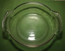 "Vintage ANCHOR HOCKING 1 1/2 Quart  8 1/4"" Round Casserole Dish # 1037"