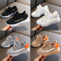 Kids Boys Girls Shoes Baby Child Casual Outdoor Soft Sport Running Sneaker Shoes