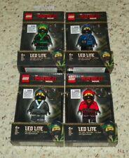LEGO The Ninjago Movie - Lloyd, Jay, Cole & Kai - LED Key Light / Flash Light