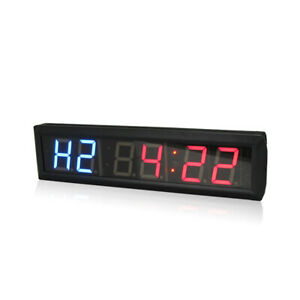 Gym Interval Timer Programmable Workout Gym Training Wall Clock Fitness Crossfit