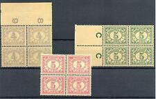 NED INDIE # 107, 110/111  x 4   KW € 68  ** MNH   PF  @7