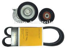 V-Ribbed Belts Set + Tensioner Audi A4 A6 1.9 2.0 Tdi