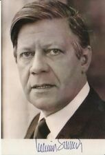 Helmut Schmidt +Autogramm++ ++Bundeskanzler++