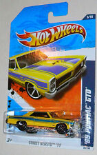 2011 Hot Wheels '65 Pontiac GTO #85