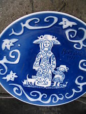 Royal Copenhagen 1971 Mother'S Day Annual Plate