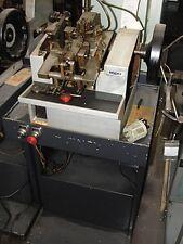 OMBI Model GPLU Double Curb Chain Making Machine W/ Factory Stand
