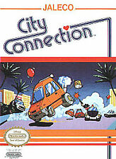 CITY CONNECTION ORIGINAL CLASSIC NINTENDO GAME SYSTEM NES HQ