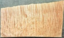 Flame Curly Maple Wood #5810 Exhibition grade Quarter Sawn 5A Bass Guitar Body