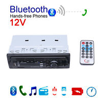 12V Car Bluetooth Stereo Music Player Hands-free Phone MP3/FM/SD/AUX Radio NEW