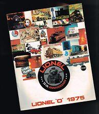 1975 LIONEL Trains Catalog: 75th ANNIVERSARY,PRR Little Joe,HUDSON,ACCESSORIES,