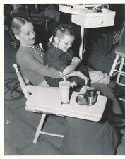 BETTE DAVIS MARLENE BURNETT CANDID Studio Set Vintage 1939 THE OLD MAID Photo