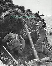 Swiss Army Minenwerfer Mountain Warfare Schweizer Armee 1937 Photo Article A942