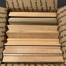 Lot Of 75 Wood Scrabble Tile Racks Letter Holders Crafts Art Replacement Parts