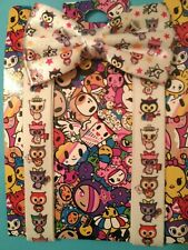 NEW From Claire's Tokidoki Bow Tie & Suspender Set Neon Star Owl/s Kawaii Cute