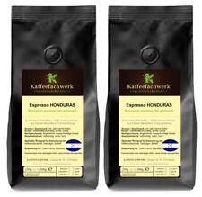 Espresso Honduras 2x500g ♥ Bohnen aus Bio Anbau vollmundig-weich Caffé Americano