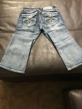 Rock Revival Womens/Juniors  Embellished Jeans Size 28