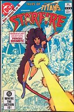 Tale of the New Teen Titans (1982) #2 NM (9.4) starring Starfire George Perez