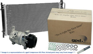 A/C Compressor-Compressor Kit with Cond New fits 14-15 Chevrolet Sonic 1.8L-L4