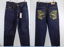 """Authentic Rocawear designer, Jean homme, taille 32"""", Jambe 30"""", coupe droite Indigo"""