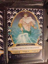 Disney Sorcerers of the Magic Kingdom *RARE* #8 King Triton's Trident