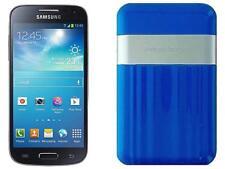 Sprint Prepaid Samsung GS4 Mini with Powerocks Cirrus Power Bank Blue