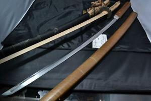 Japanese Samurai real sword Katana sharp steel blade with Tachi koshirae antique