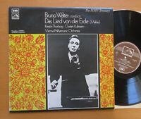 HLM 7052 Bruno Walter Mahler Das Lied Von Der Erde HMV Treasury EXCELLENT