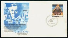 Mayfairstamps Canada Fdc 1976 Robert W Service First Day Cover wwh_72185
