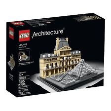 Lego Arquitectura 21024 LOUVRE NUEVO EMBALAJE ORIGINAL MISB
