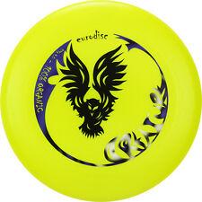 ultime Frisbee EURODISC 175g CREATURE jaune néon compétition Disque BIO