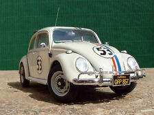 1/24 Custom Built VW Beetle 'Herbie' - The Lovebug (From Tamiya model Kit)