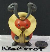 Kriketot Nintendo Pokemon Jakks Pacific Articulated Figure 2007 Rare Vintage