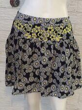 Target Hot Options Floral Skater Skirt Size 12