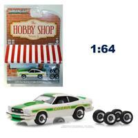 Greenlight 97050E The Hobby Shop S5 1978 Ford Mustang II Cobra II w/Wheels 1:64