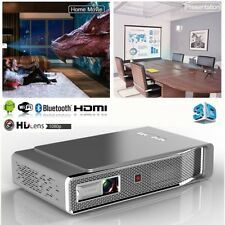 Portable 8500 Lumens DLP Android 4K HD 1080P 3D Home Theater Projector Wifi HDMI