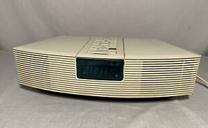 Bose Wave Radio AWR1-1W Clock Radio Alarm White No Remote