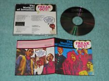 Frank Zappa Freak Out! The Mothers Of Invention first UK CD press no barcode EX+