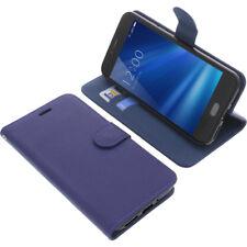 Tasche für UMIDIGI C Note 2 Book-Style Schutz Hülle Handytasche Buch Blau
