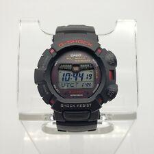 Casio G-Shock Mudman Men's Watch GW-9010 Tough Solar Multiband 6 Black 45mm EUC