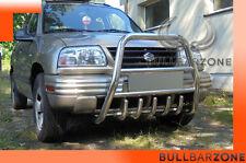 !!!+!SUZUKI GR. VITARA 98-05 TUBO PROTEZIONE ALTO BULL BAR INOX STAINLESS STEEL