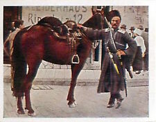 Horse Cossack Rider Russia Empire War Deutsches Heer WWI WELTKRIEG 14/18 CHROMO