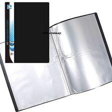 A4 Display Book 20 Pockets (40 Views) Soft Cover Presentation Folder (1 Pack) -P