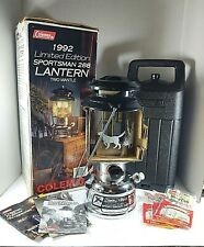 RARE 1992 Coleman Limited Edition Sportsman 288 Lantern case original box papers
